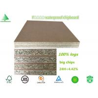 Buy cheap China factory wholesale cheap water proof F4 star 6'X8' 18MM raw particleboard for wood door from wholesalers