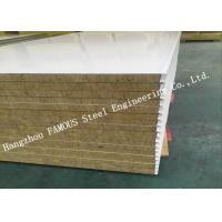 Buy cheap High Density Sound Insulation Rock Wool Sandwich Panels Fire Proof Wall Panel product