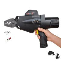 Buy cheap Electric Battery Powered Wire Terminals Crimper Handheld Automatic Crimping Tool Black from wholesalers