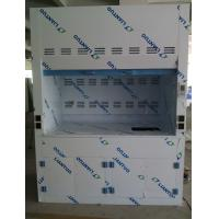 Buy cheap Polypropylene Ducted Laboratory Chemical Fume Hood / Cupboard with PP Cup Sink from wholesalers