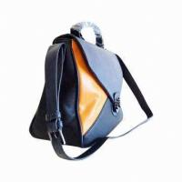Buy cheap Top Fashionable Ladies' Leather Bag with Mix Color Style, Targeted at 2013 Autumn         from wholesalers