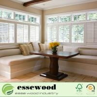 Buy cheap Customized American Style  White PVC Window Plantation Shutters from wholesalers