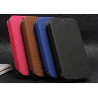 Buy cheap Colorful leather phone case for Moto G with standing function from wholesalers
