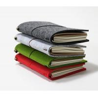 Buy cheap A4 A5 A6 A7 B5 B6 line felt recycled journal notebook from wholesalers