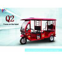 Buy cheap 60V 1000W Electric Open Passenger Motor Tricycle 2800*1160*1760 Mm from wholesalers