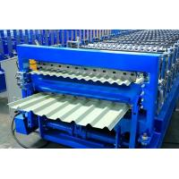 Buy cheap 12-15m/Min Double Layer Roll Forming Machine , Metal Roofing Panel Roll Former from wholesalers