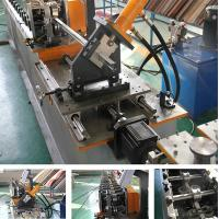 Buy cheap Stud And Track Roll Forming Machine HIgh Speed Steel GI Omega Furring Channel from wholesalers