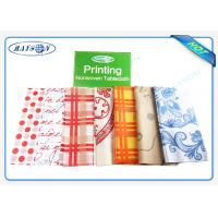 Buy cheap Four Colors / Multi Gram / 30-80 Gram Spunbond PP Non Woven Table Cover Outdoor Party from wholesalers