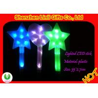 Buy cheap LED flashing toys - large personalized blue, green, purple ABS plastic star glow sticks from wholesalers
