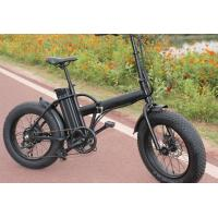 Buy cheap 20 inch folding electric bike ,  25KM / H big tire mountain bike EN15194 Approved from wholesalers