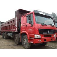 Buy cheap 12 Wheel 8X4 Used Howo Trucks / 2nd Hand Dump Trucks 2015 Production Years from wholesalers