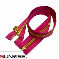 Buy cheap #3#5 Coil zippers open end 60cm from wholesalers