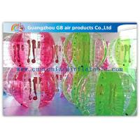 Buy cheap Giant Football Game Inflatable Human Hamster Ball For Adults / Kids from wholesalers