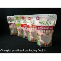 Buy cheap Food Grade Flexible Printed Stand Up Pouch With Zipper For Rice Food product