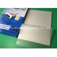 High Brightness 100 Micron Laminating Pouches A4 Glossy With PET EVA Material