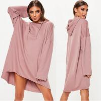 Buy cheap Custom Rose Oversized Hoodie Printing Sweater Dress from wholesalers