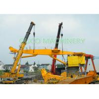Buy cheap 100T 10M Heavy Duty Dock Crane Knuckle Boom Small Footprint Low Power Consumption from wholesalers