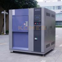 Buy cheap Water cooled condenser single door 150L 3-Zone thermal shock test  chamber from wholesalers