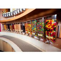 Buy cheap Wall Mounted Perspex / Acrylic Candy Dispenser , Free Design Provided from wholesalers