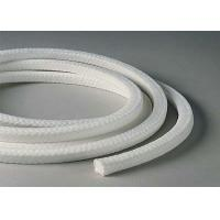 Buy cheap White Lattice Braided Teflon Packing , PTFE Packing With Oil Or Without Oil from wholesalers