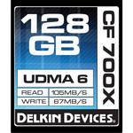 Buy cheap Delkin Devices 128GB CF Card 700x UDMA Price $119 from wholesalers