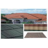 Buy cheap Environmental Stone Coated Metal Roofing Tile , spanish architecture roof tiles from wholesalers