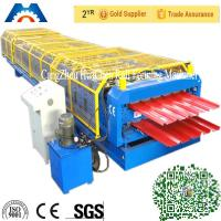 Buy cheap High speed double layer building used metal roofing roll forming machine from wholesalers