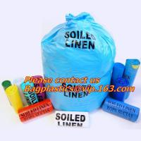 Buy cheap 100% Biodegradable household nursing hotel soiled linen,Hospital soiled linen garbage trolley,polythene garbage bags for from wholesalers
