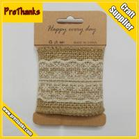 Buy cheap Hot sale Hemp Ribbon With Lace Tape from wholesalers