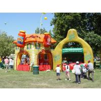 Buy cheap Colorful display advertising inflatables booth Kiosks for outside exhibition product
