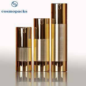 Buy cheap 15ml 30ml 50ml hide Away Inner Pump Cosmetic Bottles For Travel product