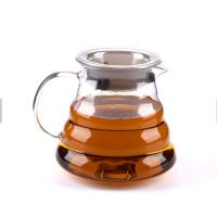 Buy cheap Heat Resistant Stainless Steel Coffee Pot Hand Punch Tea Coffee Pot Glass from wholesalers