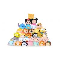 Buy cheap Hot Disney Tsum Tsums Collection Plush Toys For  Mobile Phone Screen Cleaner Keychain Bag from wholesalers