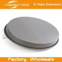 Buy cheap Factory wholesale Teflon Platinum Commercial Grade Carbon Steel cake baking pans-Non stick pizza tray for bakeware from wholesalers