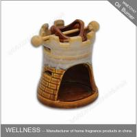 Buy cheap Beautiful Smelling Luxury Oil Burner , Ceramic Home Fragrance Oil Burners product