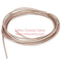 Buy cheap SFB: Solid PTFE Insulation, PTFE Tap Wrapped Fiberglass Jacket RF Coaxial Cable from wholesalers