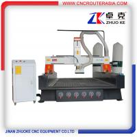 Buy cheap ZKM-1325B Wood Carving Machine with Vacuum system and dust collector 1300*2500mm from wholesalers