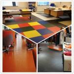 Buy cheap 3W Anti Slip Indoor Office Interlocking Removable Plastic PVC Floorommg Tiles from wholesalers