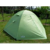 Buy cheap Custom Folding Waterproof Canvas Camping Tent Green / 2 Man Instant Tent from wholesalers