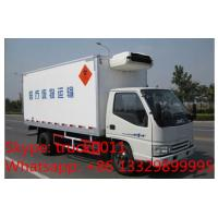 Buy cheap T-King gasoline and CNG refrigerated truck for sale, Hot sale T-king brand gasoline-CNG cold room truck for frozen food from wholesalers
