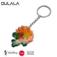 Buy cheap Stainless steel custom key chain with printing logo key ring for sale from wholesalers