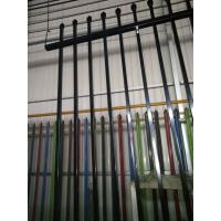 Buy cheap garrison fence security fence ,crimped and pressed spear top fencing for sale from wholesalers