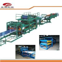 Buy cheap Multifunctional Color Steel Sandwich Panel Machine 32kw Power Full Automatically from wholesalers
