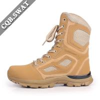 Buy cheap China Men Shoes Fancy Nubuck leather Upper Material High Cut Commando Boot from wholesalers