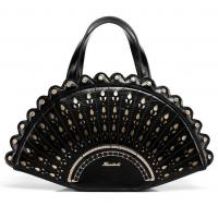 Buy cheap Peacock creative fashion handbag female black tide personality cute cartoon from wholesalers