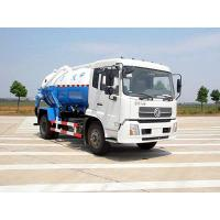 Buy cheap Dongfeng Suction Sewage Truck/ 4X2 chassis/ 10 cubic meter tank volume/180hp from wholesalers