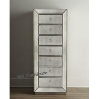 Buy cheap Antique Tall Mirrored Chest Of Drawers Excellent Hand Made Technique from wholesalers