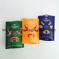 Buy cheap Beef Jerky 20 Micron Packaging Poly Bags With Euro Hole from wholesalers