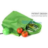 Buy cheap Cute T shirt non woven shopping reusable foldable polyester carry bag,custom foldable waterproof polyester Drawstring Ba from wholesalers