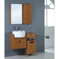 Buy cheap Sell bamboo bathroom cabinet B-1 from wholesalers